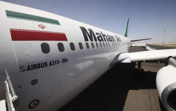 An Airbus A310 of Iranian private airline Mahan Air. REUTERS