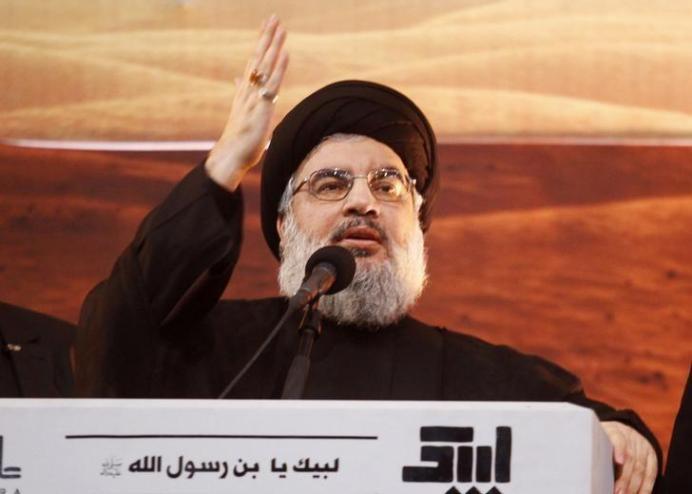 Lebanon's Hezbollah leader Sayyed Hassan Nasrallah. REUTERS