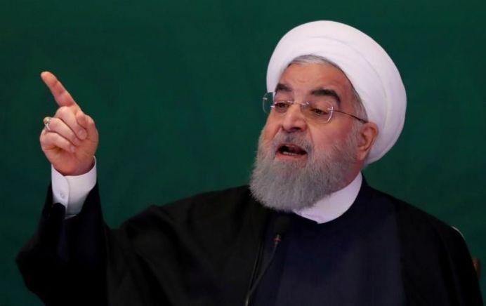 Iranian President Hassan Rouhani. REUTERS