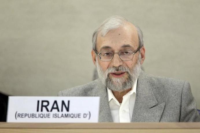 Mohammad Javad Larijani REUTERS/Pierre Albouy