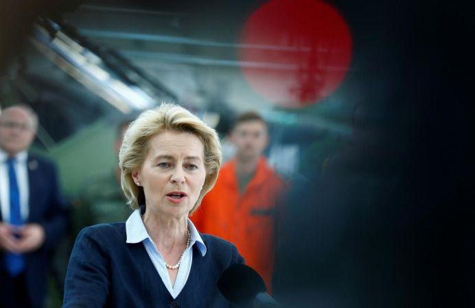 German Defence Minister Ursula von der Leyen. REUTERS
