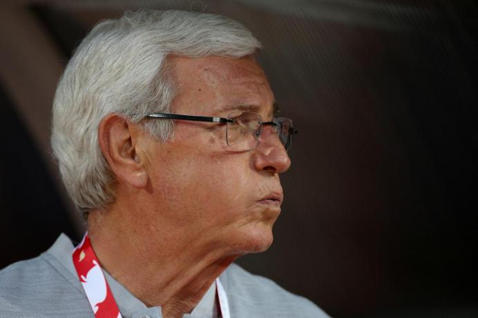Coach of Chinese national team Marcello Lippi. REUTERS/Athit Perawongmetha