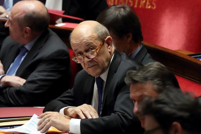 Jean-Yves Le Drian. REUTERS/Gonzalo Fuentes