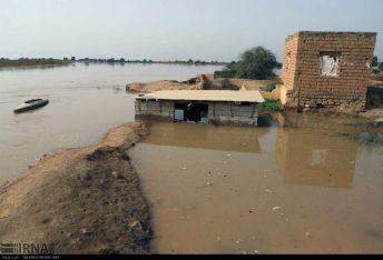 سیل-در-روستاهای-خوزستان
