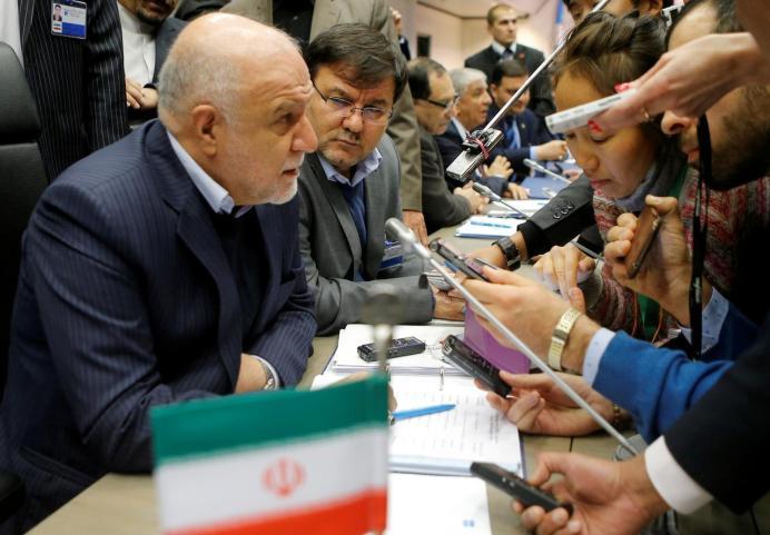 Zanganeh, Iran's oil minister. Reuters