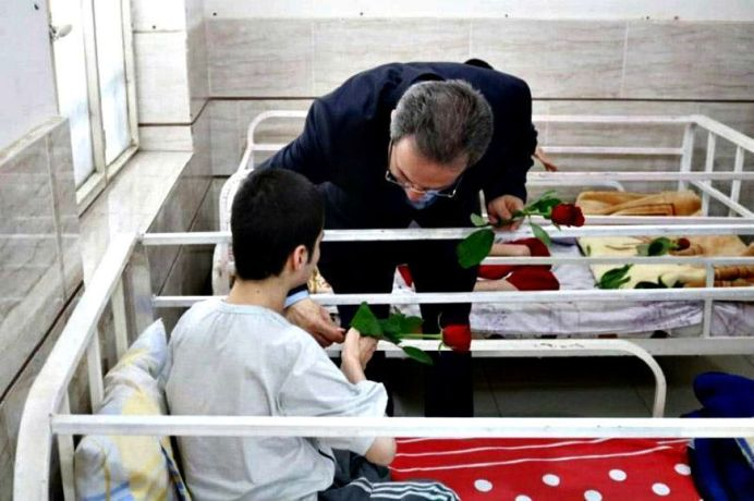 A disabled Care Home in Iran. Source: Kayhan London