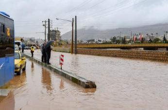 Unprecedented Flooding Hits Iran. Reuters