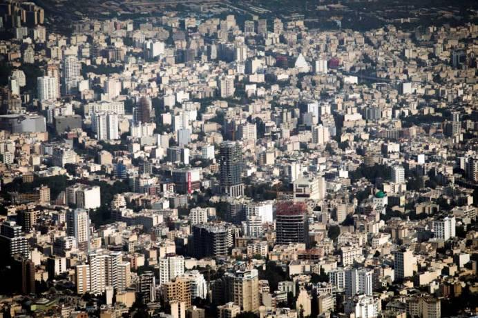 An aerial view of Tehran, Iran. Source: Kayhan London