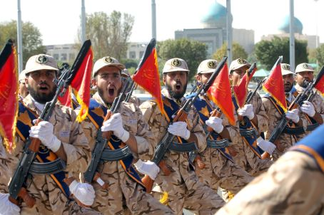 Members of the Iranian Army. REUTERS