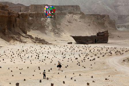 A Dragon Arrives! film still by Mani Haghighi