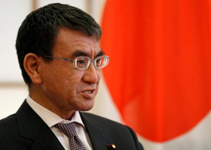 Japanese-Foreign-Minister-Taro-Kono-432432