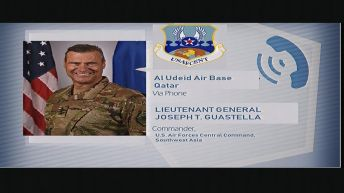 Lt. General Joseph Guastella, commander of the U.S. Air Forces Central Command in Southwest Asia, says Iran shot down a U.S. military drone in international air space in what the Pentagon is calling an 'unprovoked attack.' REUTERS