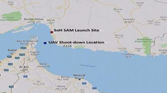 US military says drone was 34 km from Iran when it was shot down. Reuters
