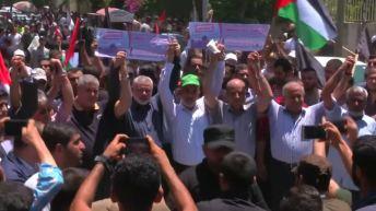 Mass protests in Gaza reject U.S.-sponsored Bahrain economic workshop