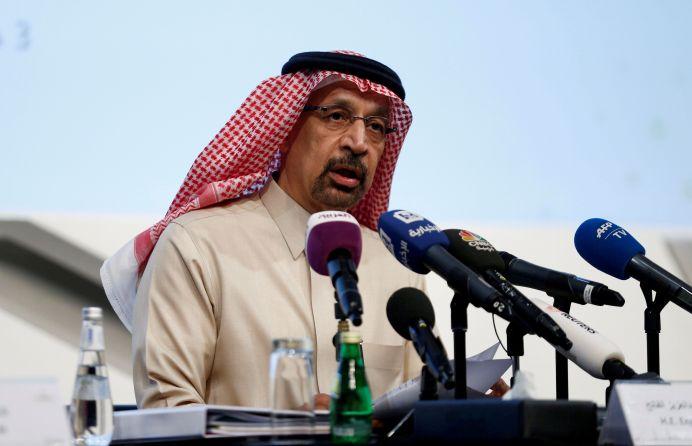 FILE PHOTO: Saudi Energy Minister Khalid al-Falih. REUTERS/Faisal Al Nasser