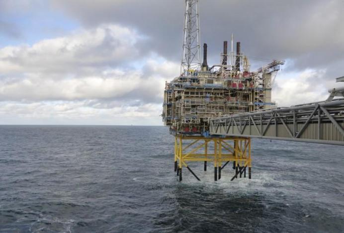 An offshore platform near Stavanger, Norway. REUTERS/Nerijus Adomaitis