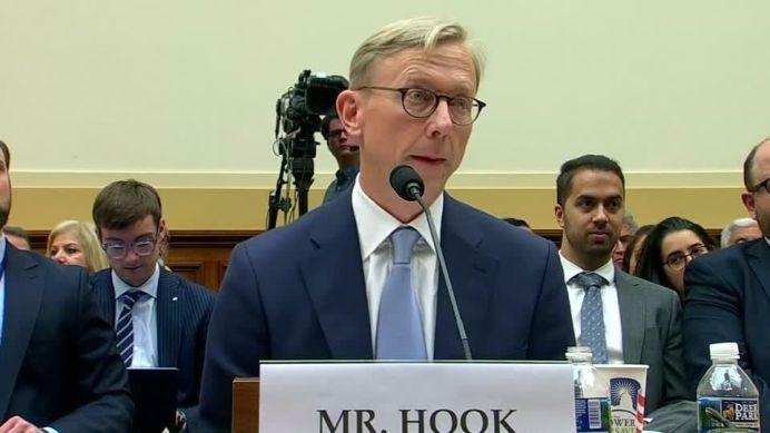 Brian Hook. REUTERS