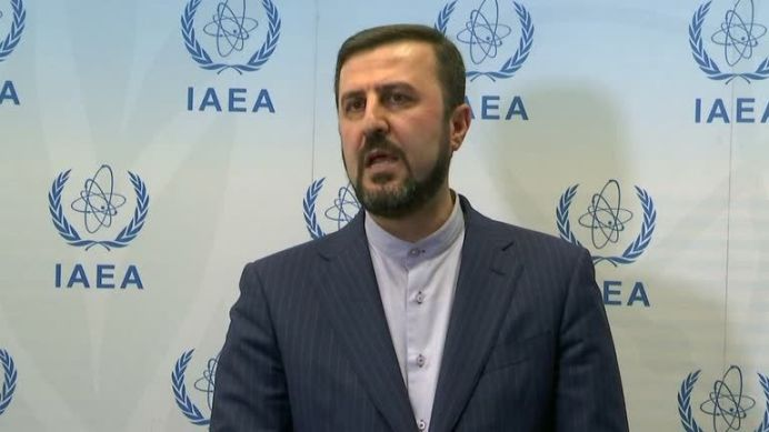 Iran's Ambassador to IAEA, Kazem Gharib Abadi. Reuters./