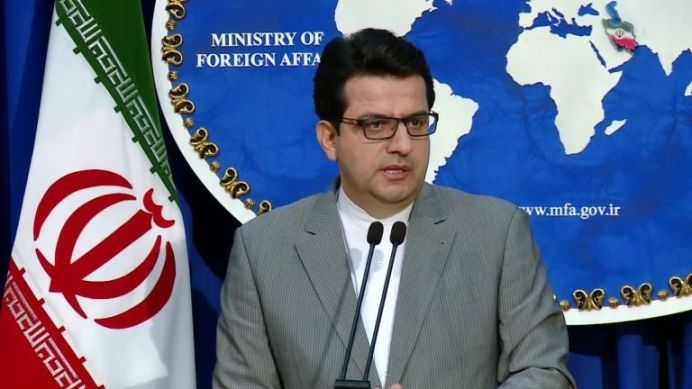 FILE PHOTO: Iranian Foreign Minister's Spokesman Abbas Mousavi Holding News Conference. REUTERS./
