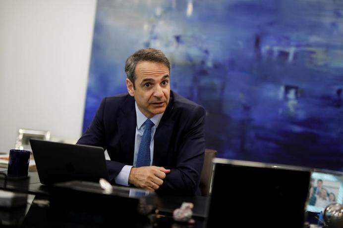 Kyriakos Mitsotakis. Reuters./