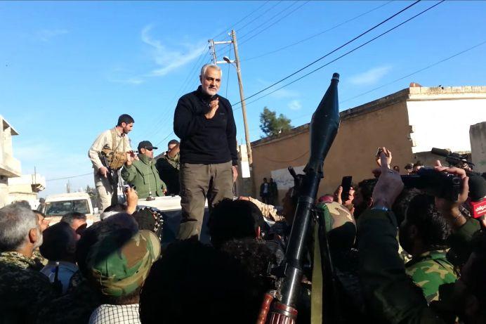 Undated photo of Iranian general Qassem Soleimani. REUTERS./