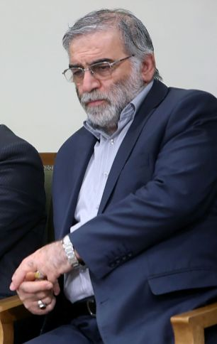Prominent Iranian scientist Mohsen Fakhrizadeh is seen in Iran, in this undated photo. REUTERS./