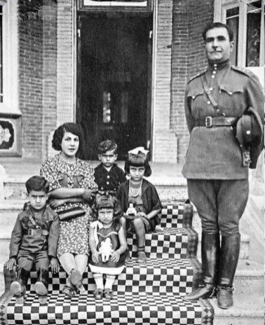 Forough's family. Kayhan London