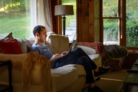 Kaveh Madani is photographed at his home in Toronto, Canada, September 14, 2019. Picture taken September 14, 2019. To match Special Report CLIMATE-CHANGE/SCIENTISTS-MADANI REUTERS/Moe Doiron