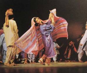 Farzaneh Kaboli - Baluch dance. KAYHAN LONDON./