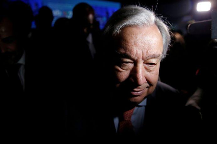 United Nations Secretary-General Antonio Guterres. REUTERS/Rafael Marchante
