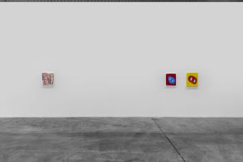 Installation view - Andre Butzer, 2020 - Courtesy Carbon 12. Photo credit: Anna Shtraus./
