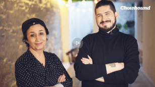 1. Nasim Alikhani of Sofreh Restaurant in Brooklyn, NY and Guillermo Riveros of Chowhound