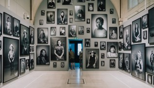 Shirin Neshat, Installation View, Photo London. Courtesy the artist and Goodman Gallery, London.