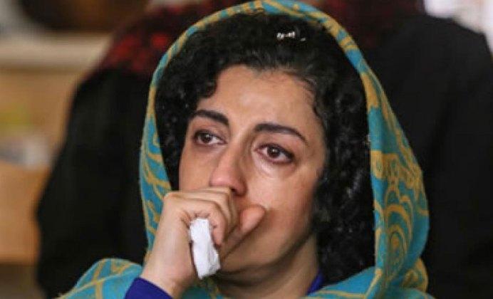 Narges Mohammadi. Kayhan London./