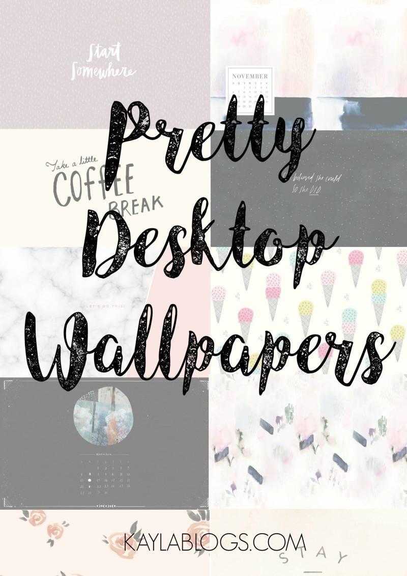 Favorite Websites For Pretty Desktop Wallpapers