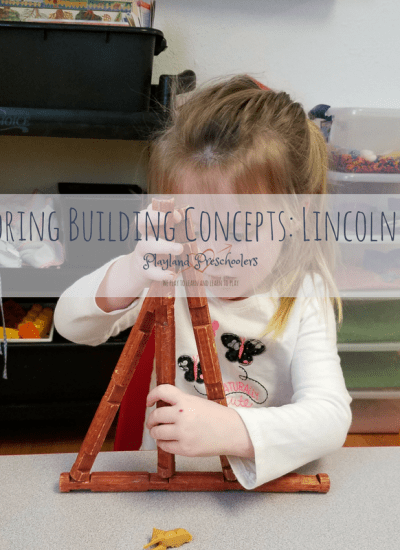 Exploring Building Concepts: Lincoln Logs