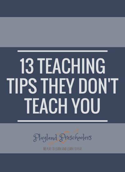 13 Teaching Tips