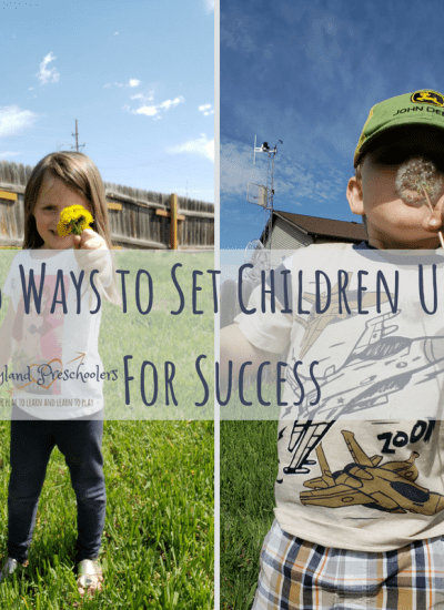 5 Ways to Set Children Up For Success