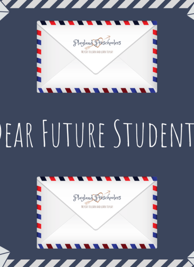 A Letter to My Future Students