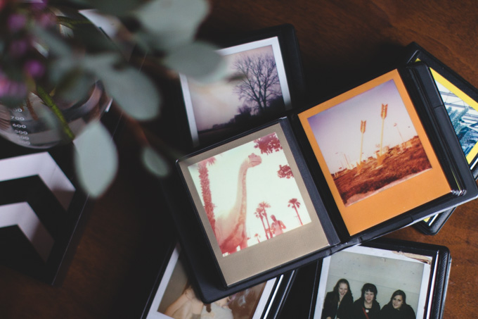 polaroid, photo album, instant photo, impossible project