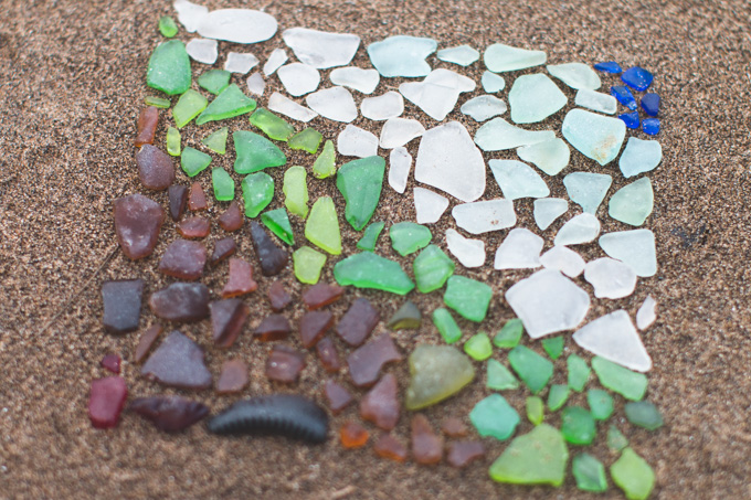 Lake Erie, beach, glass, sea glass