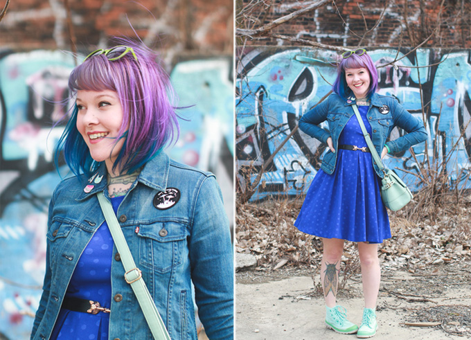 what I wore, palladium boots, ohio, fashion blog