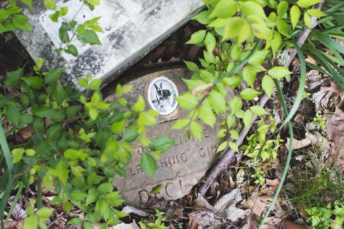 Columbus, OH, headstone, graveyard