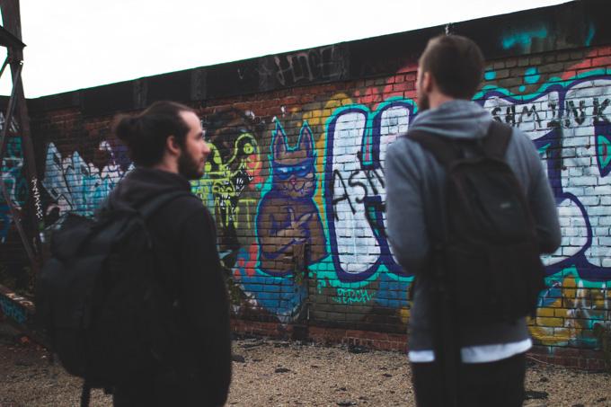 cleveland, abandonedm graffiti