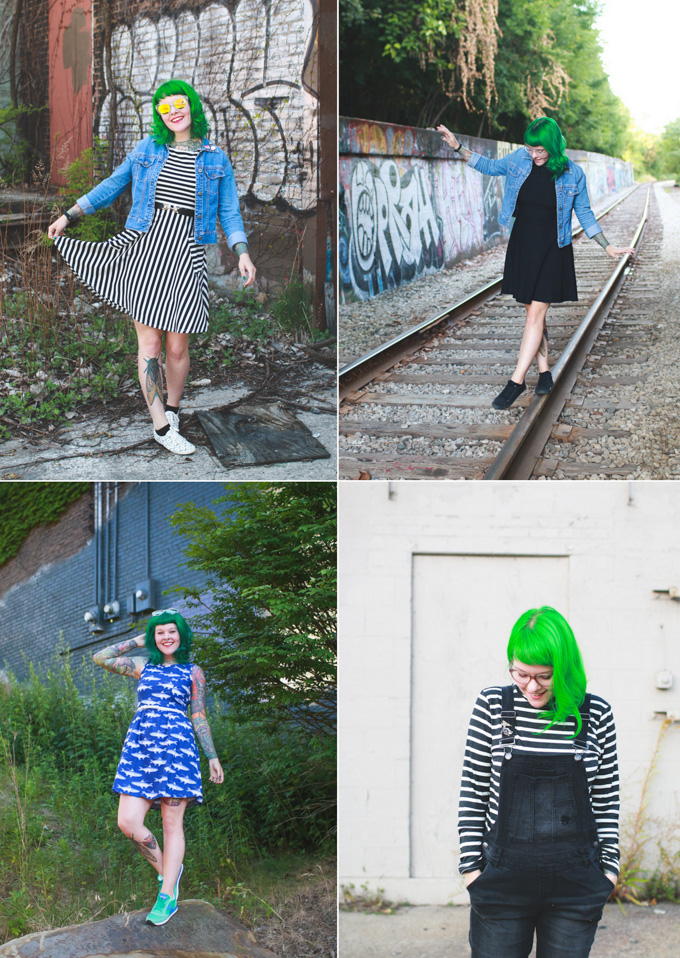 the dainty squid, kaylah doolan, cleveland fashion blog