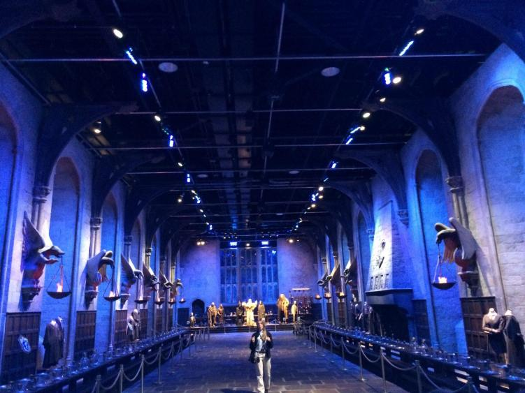 harry potter set is one of the many things to do in london