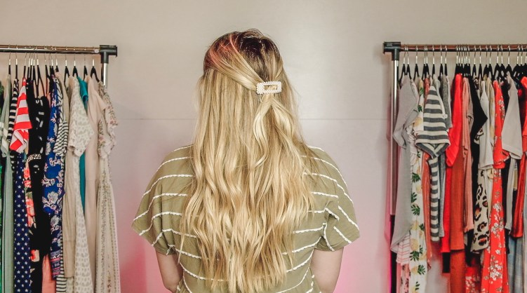hair barrettes hairstyles