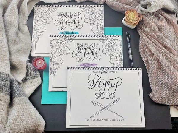 The Complete Level Up Brush Calligraphy Workbook Bundle