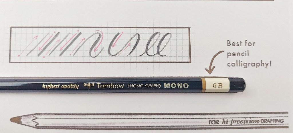 Tombow 6B Mono