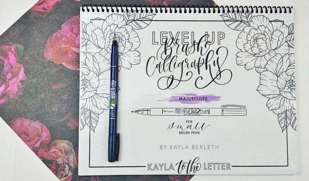 Level Up Brush Calligraphy Majuscules